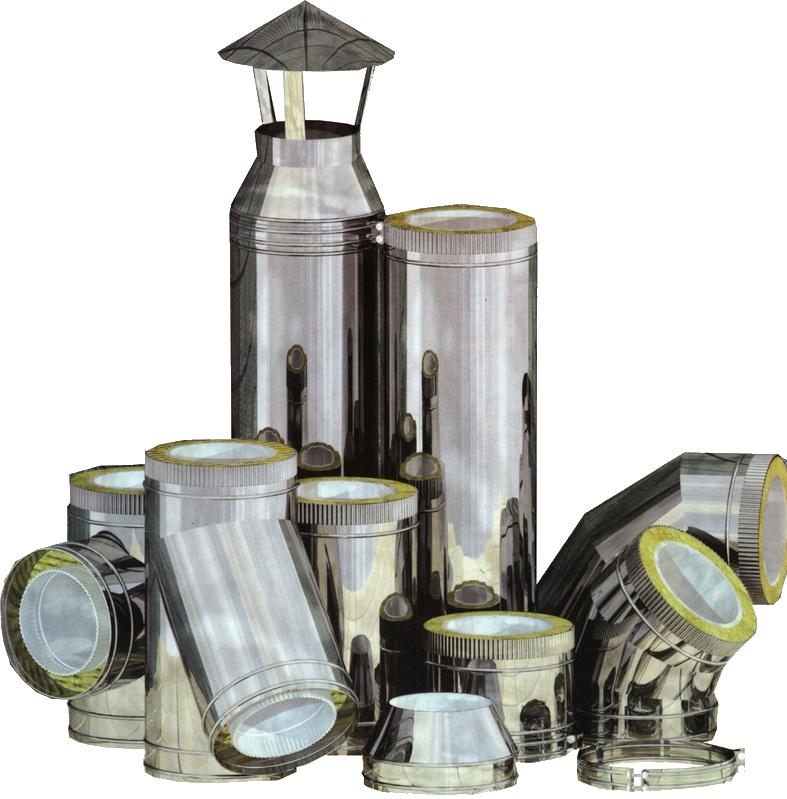 Труби з нержавіючої сталі (Утеплені)